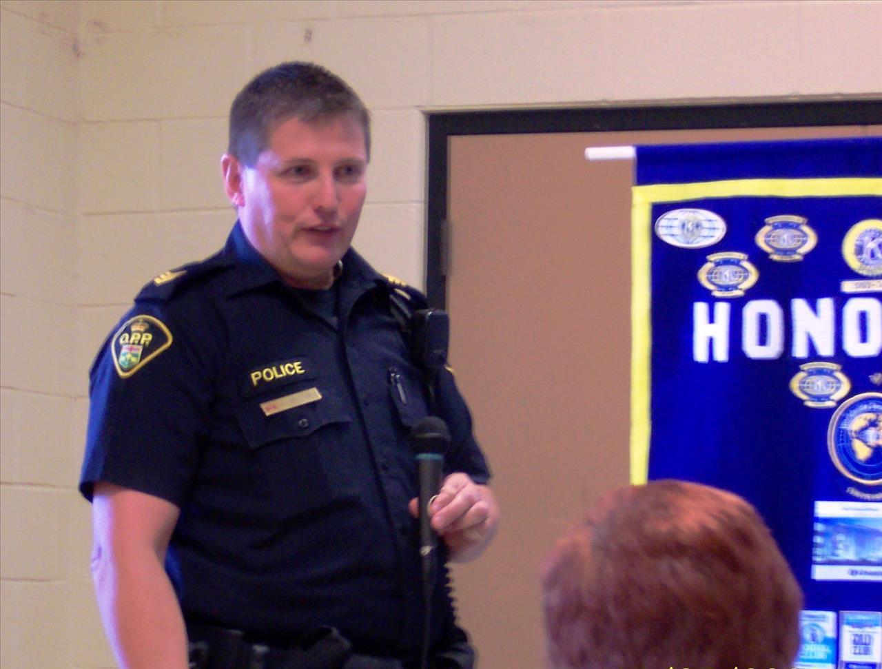 OPP-Constable-Jay-Denorer-speaks-on-Avoiding-Scams