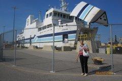 Boarding-the-Jimaan-for-Pelee-Island